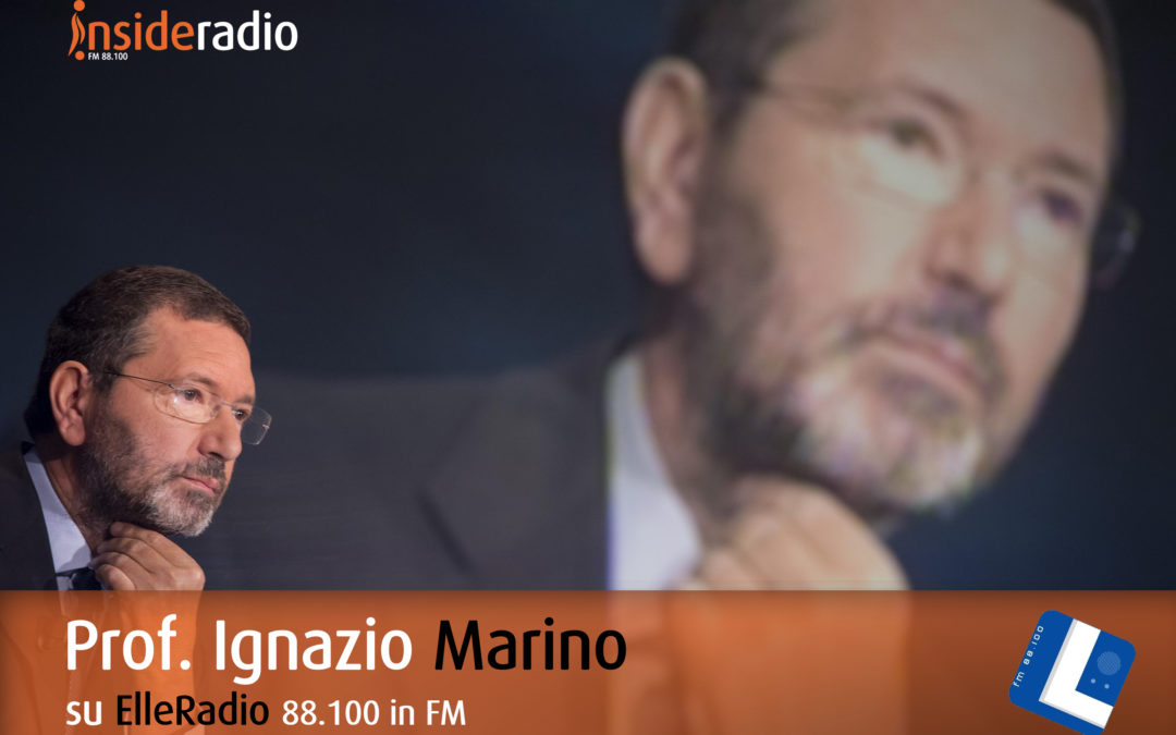 L'intervento del Prof. Ignazio Marino sulle frequenze di ElleRadio
